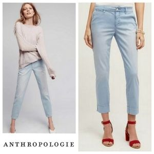 Anthropologie Pilcro Stet Cropped Chinos